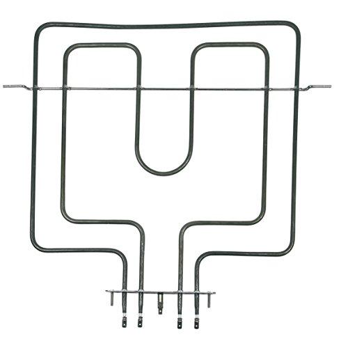 Whirlpool Bauknecht 481010452572 ORIGINAL Oberhitze Grill Heizung Heizelement oben 900W+1600W 230V Backofen Herd Ofen auch Cooke&Lewis Cylinda Hotpoint Ignis Indesit Prima Privileg Quelle