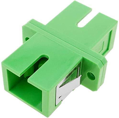 Elfcam - Adaptador de Cable de Fibra Óptica SC/APC a SC/ APC Simplex , 1 Unidade