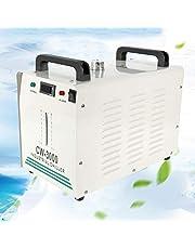 Industriële waterkoeler, waterkoeler, graveermachine, 9 liter, CW-3000 industriële waterkoeler, 10 l/min CO2-slang, koeling, CO2-graveermachine
