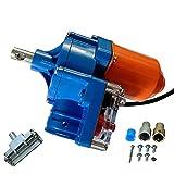 Motor enrollable de película de invernadero de 100 W, motor enrollable eléctrico Equipo de ventilación de invernadero de escalador automático, CC 24 V 4.0 RPM, longitud máxima de película de 100 m