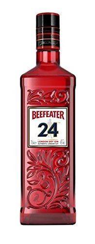 Beefeater Gin 24 Red Look London Distilled Dry Gin 45% 0,7l Flasche