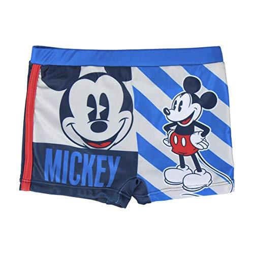 Cerdá Jungen Boxer Baño Mickey Boxershorts, Blau (Blau C03), 5 Jahre