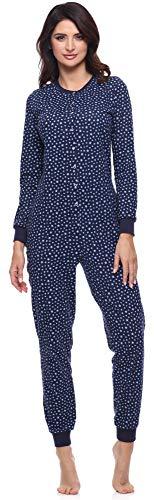 Merry Style Pijama Entero Una Pieza Ropa de Casa Mujer MS10-187