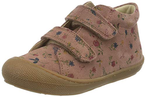 Naturino Cocoon VL, First Walker Shoe Bimba 0-24, Rosa Antico-Multi, 18 EU