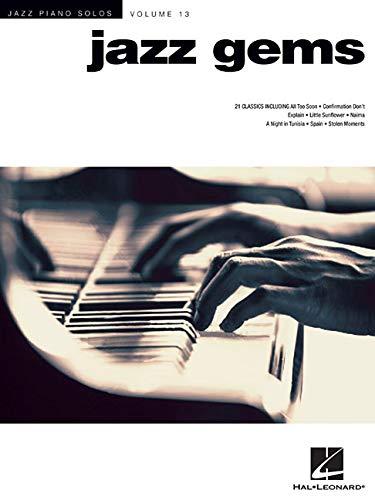 Jazz Piano Solos Volume 13: Jazz Gems: Songbook für Klavier