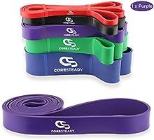 Coresteady weerstandsbanden - Geassisteerde Optrekband - Trainingsbanden voor CrossFit - Powerlifting - Yoga -...