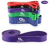 Coresteady Resistance Band - Assisted Pull Up Band - Exercise Workout Band for Crossfit – Powerlifting – Yoga – Stretch Mobility for Men and Women