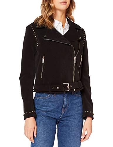 Armani Exchange Blouson Jacket Chaqueta de cuero de imitación para Mujer