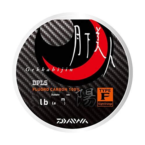 ダイワ(DAIWA) フロロライン 月下美人TYPE-F2 1.5lb. 150m 陽 サイトオレンジ