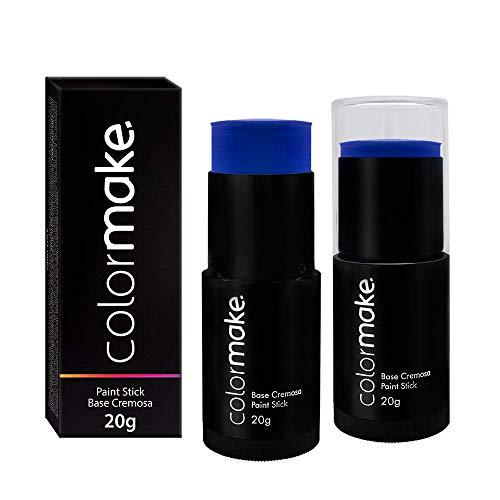 Paint Stick Base Cremosa, Colormake, Azul