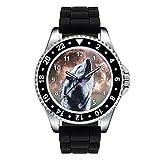 Timest - Lobo - Unisex Reloj con Correa de...
