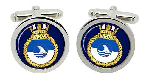 Gift Shop Hmcs Ungava, Königliche Kanadischen Marineblau Manschettenknöpfe in Box