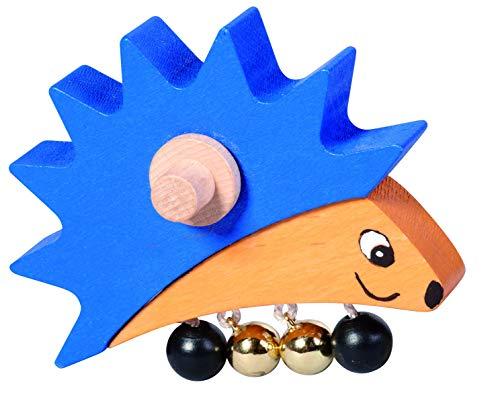 nic Toys hérisson Assorti au multitrace en Bois 10 x 8 x 3,5 cm