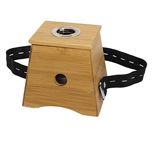 uxcell - Contenitore in bambù Moxa Roll Burner Moxibustion, colore: marrone