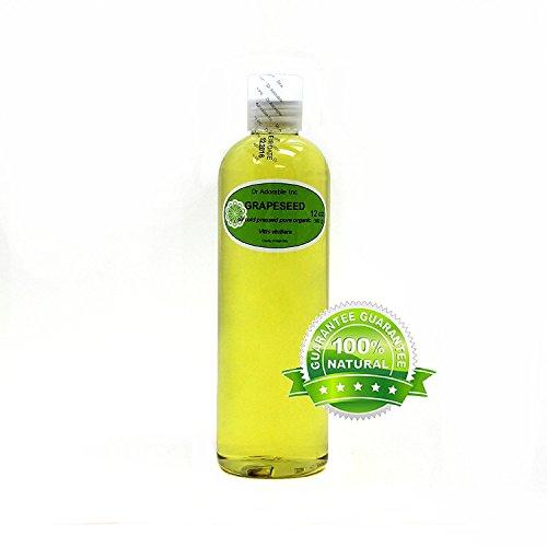 12 Oz Organic Grapeseed Oil