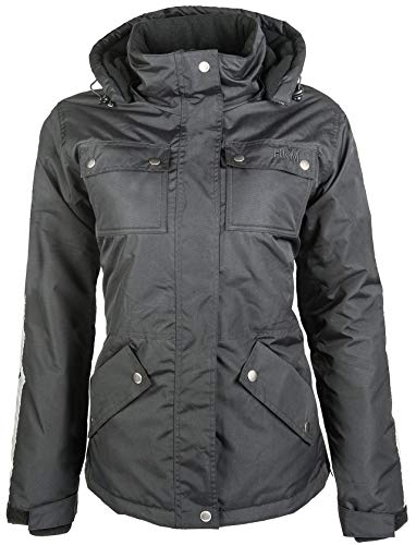 HKM Erwachsene Winterjacke-Edmonton-9100 schwarzXS Hose, 9100 schwarz, XS
