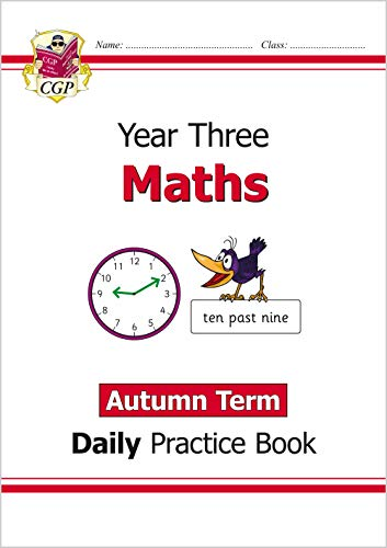New KS2 Maths Daily Practice Book: Year 3 - Autumn Term: superb for...