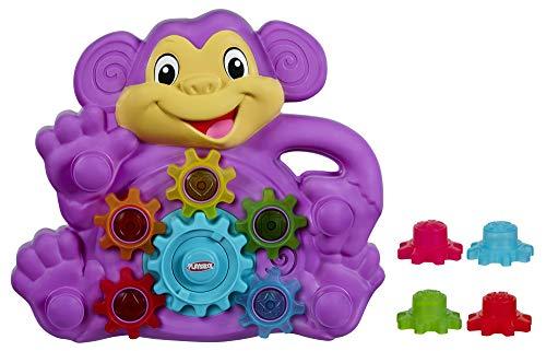 Playskool Ritzel-Äffchen, Motorikspielzeug mit 9 austauschbaren Zahnrädern aus Kunststoff, ab 9 Monaten