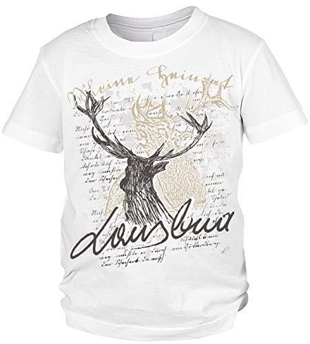 Trachten Kinder T-Shirt: Hirsch Lausbua
