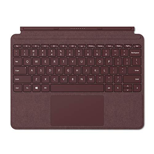 Microsoft Signature Type Cover - Funda con teclado para Surface Go, Burdeos - Teclado QWERTY Español