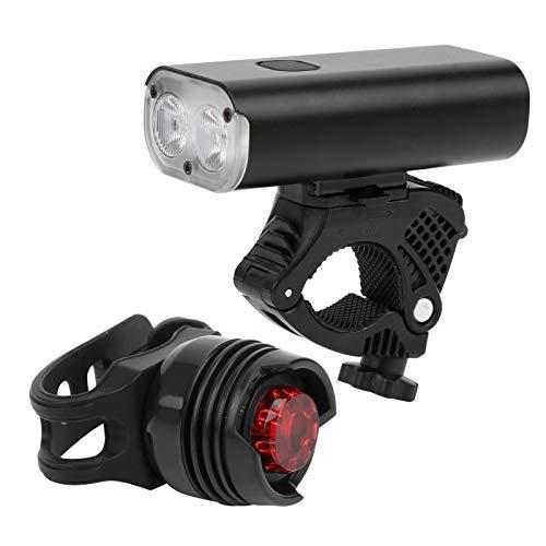 Aoutecen Juego de Luces de Bicicleta multifunción Luz de Bicicleta a Prueba de Salpicaduras, para Bicicletas, vehículos eléctricos