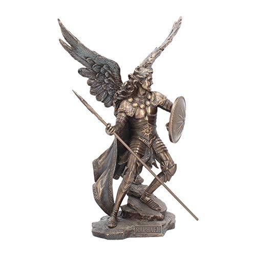 Nemesis Now Figur Erzengel Raphael, 40 cm, bronzefarben