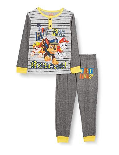 PAT PATROUILLE Jungen Zweiteiliger Schlafanzug, Grau, 5 Jahre