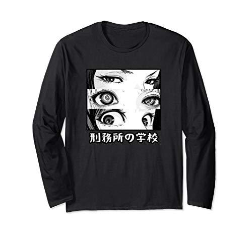 Anime Eyes | Otaku | Waifu Material | Japanese Anime | Nani Long Sleeve T-Shirt