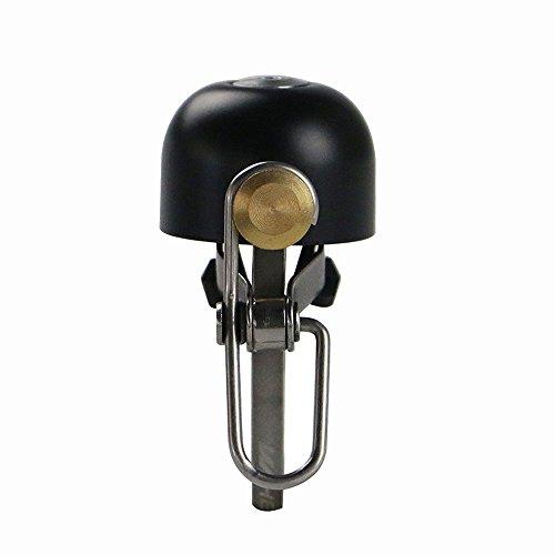Vientiane fiets Bell Mini Bike Ring Loud Crisp Clear Sound Horn Fiets Accessoires voor mountainbike Electric Bike (zwart)