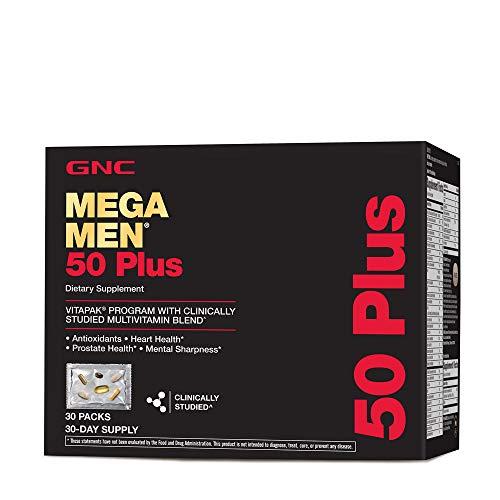 GNC Mega Men 50 Plus Vitapak Program