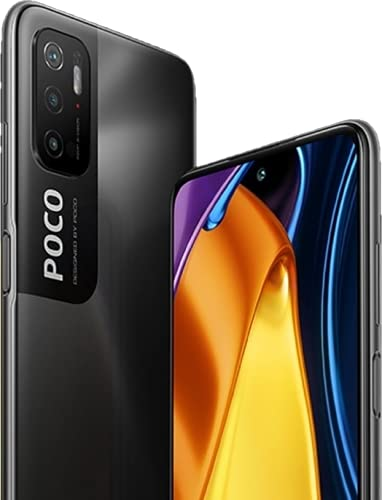 "Xiaomi Poco M3 Pro 5G (6GB+128GB) Dual SIM, グローバル版, SIMフリー, 6.5"" IPS LCD, 90Hz, Android 11, MIUI 12, トリプルカメラ48MP+8MP+2MP+2MP, 5000mAh, Fast charging 18W (Power Black/パワーブラック)"