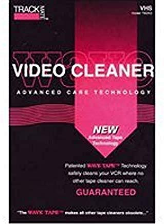 Read About TRACKMATE TM265 Wavetape VHS Video Tape Path Cleaning Cassette