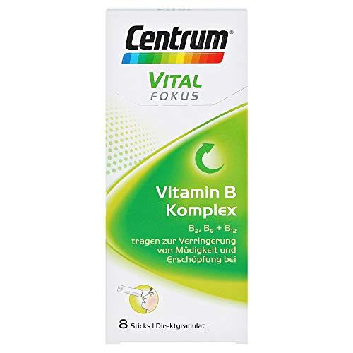 Centrum Vital Fokus Vitamin B Komplex Direktgranulat Sticks, 8 st. Sachets
