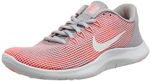 Nike Women's Flex 2018 Rn Running Shoes, Grey (Atmosphere Grey/Vast Grey/Crim 005), 3.5 UK
