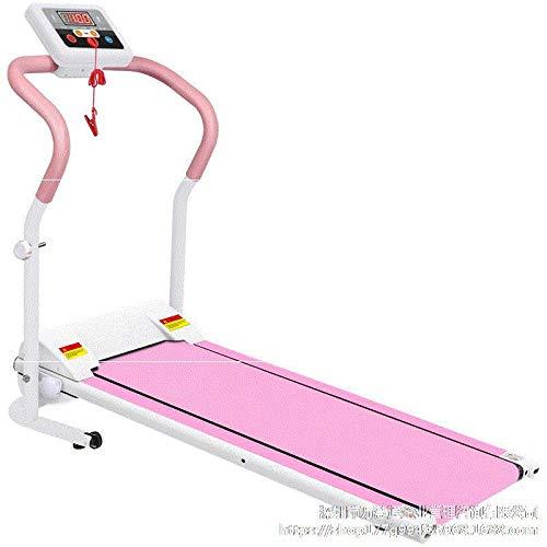 Yunmeng Mini-rollator, zeer stil, kleine loopband, inklapbaar, elektrische installatie, multifunctioneel, voor meisjes