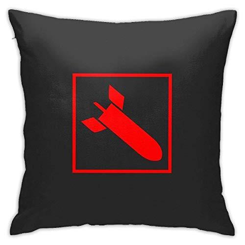 Hdadwy Quake 3 Arena Rocket Launcher Home Dekorative Kissenbezüge Bett Sofa Couch Kissen Quadratischer Kissenbezug 18x18 Zoll