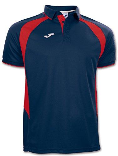 Joma Polo CHAMPION 3 Bleu Marine / Rouge Taille - 2XS