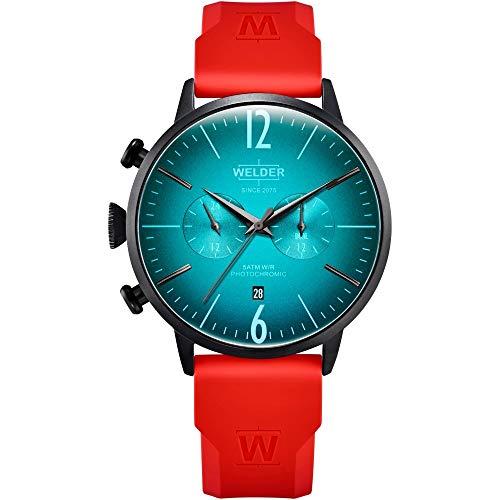 Welder breezy orologio Uomo Analogico Al quarzo con cinturino in Gomma WWRC521