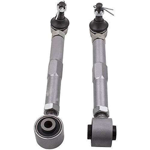 2 Pcs Adjustable Rear Toe Control Arms Kits For Lexus IS300 2001-2005/ GS400 1998-2000 /GS300 1998-2005 Pair