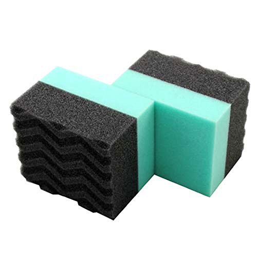 Chemical Guys – ACC_300_2 Acc_3002 Wonder Wave Durafoam Contoured Large Tire Dressing Applicator Pad, Pack of 2