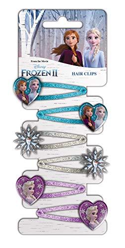 CRAZE Frozen 2 Hair Clips Haarspangen Kinderschmuck Haarschmuck für Kinder 22122, mehrere Ausführungen