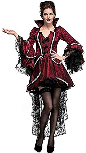 Short Luxury Vampiress Fancy Dress Costume