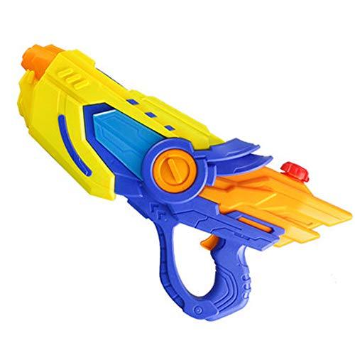 MOFENGWU Kinderwasserpistole Spielzeug, Elektro-Wasser-Spritzpistole Jungen Und Mädchen Im Freien Driften Strand Wasserspielzeug Elektro-Wasserpistole Spielen,Blau