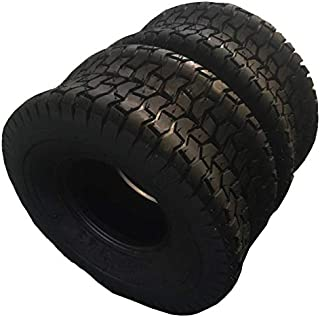Set of 2 Turf Tires 15x6-6 Lawn & Garden Mower Tires 4Ply 15 6.00 6 Tubeless Tires