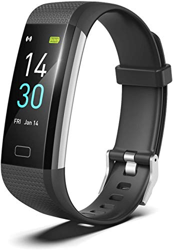VSILE Smart Watch Fitness Activity Tracker Watch Pedometer, Fitness Tracker, with Heart Rate Monitor, Calorie Counter, Suitable for Men, Women and Children