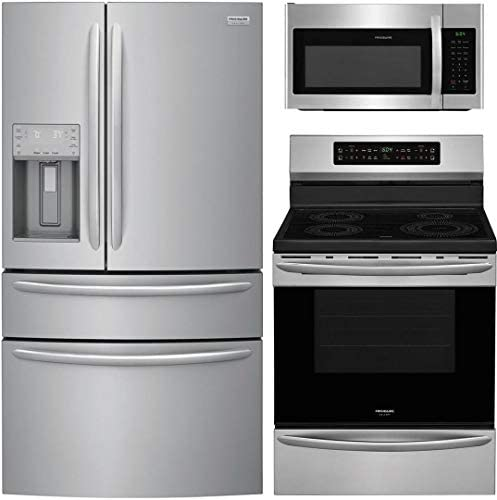 Frigidaire 3 Piece Kitchen Appliance Package with FG4H2272UF 36 French Door Refrigerator FGIF3036TF product image