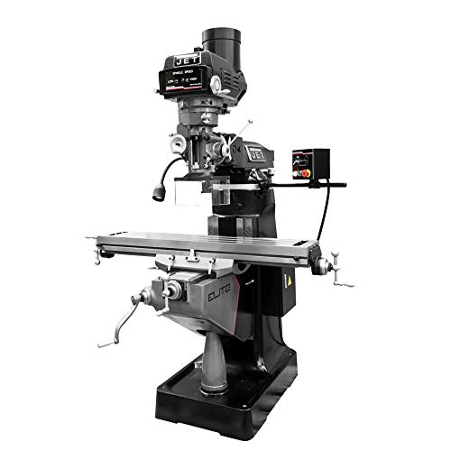 Find Discount JET 894178 ETM-949 Mill with Servo X, Y-Axis Powerfeeds and USA Air Powered Draw Bar