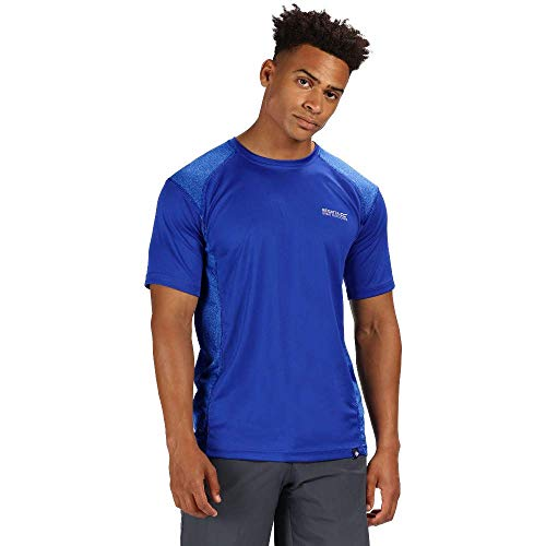 Regatta Herren Hyper-Reflective II Quick Drying Active Sports T-Shirt, Surf Spray/Surf Spray, XL