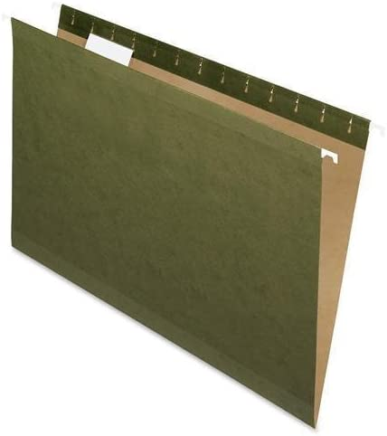Pendaflex Hanging Popular brand Folder Large-scale sale Legal 1 5 4153 Tab Green Cut 25 BX