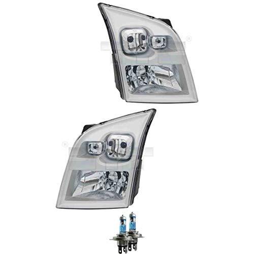 Scheinwerfer Set H4 für Transit Bus FD_ FB_ FS_ FZ_ FC_ FA_ inkl. Lampen